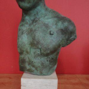 Asclepios – bronze signé Igor MITORAJ